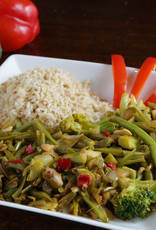 FliP Frozen Asian Stir Fry Vegetables With Rice
