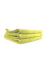 Chemical Guys Yellow Workhorse Microfiber Towels (3 Pack)
