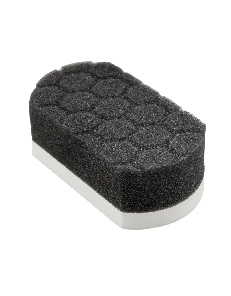"""Chemical Guys White Cross-Linked Applicator w/ Hex Surface (1.75"""" X 2.5"""" X 4.625"""")"""