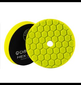 "Hex-Logic BUFX111HEX5 Hex-Logic Quantum Buffing Pad -Yellow 5.5"""
