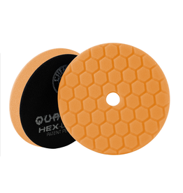 Hex-Logic BUFX112HEX5 Hex-Logic Quantum Buffing Pad -Orange -5.5""