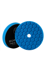 Hex-Logic BUFX115HEX5 Hex-Logic Quantum Buffing Pad Blue -5.5''