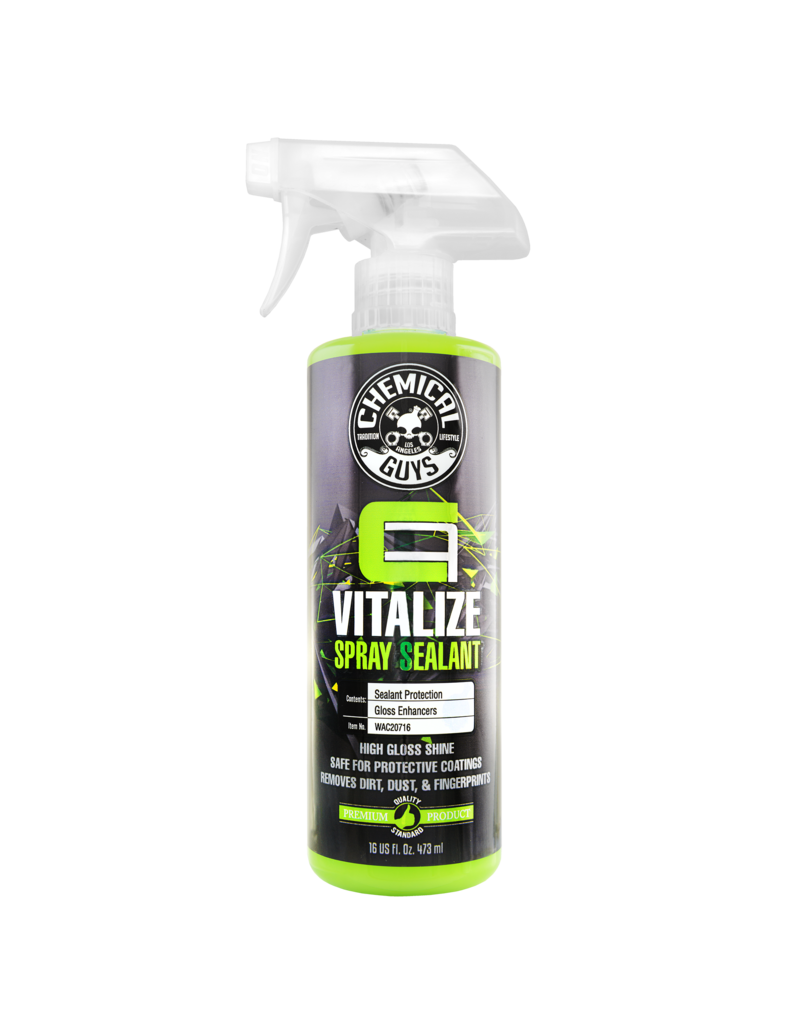 Chemical Guys WAC20716 Carbon Flex Vitalize Spray Sealant (16oz)