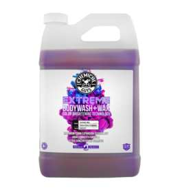 Chemical Guys Extreme Bodywash & Wax Car Wash Soap with Color Brightening Technology, 1 gal.
