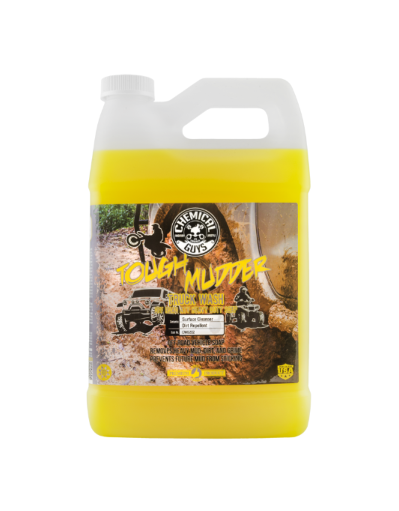 Chemical Guys Tough Mudder Truck Wash Off Road ATV Heavy Duty Soap, 1 Gal