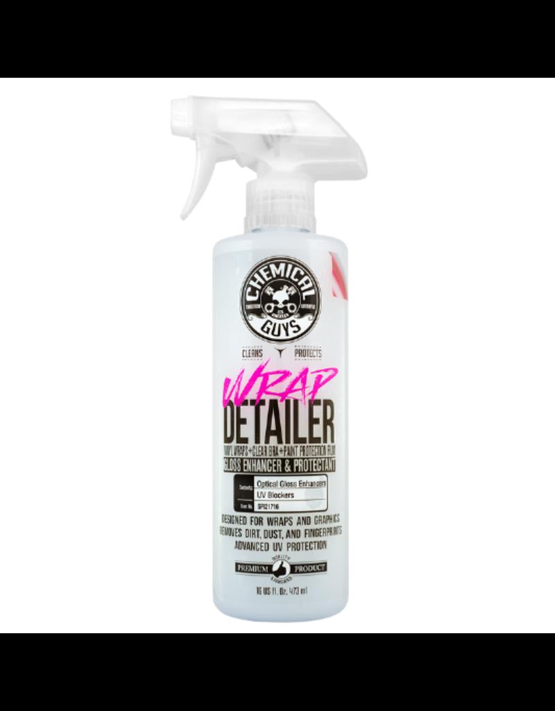 Chemical Guys Wrap Detailer Gloss Enhancer & Protectant (16 oz)