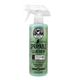 Chemical Guys Sprayable Leather Conditioner & Cleaner In One Ph Balance w/ Vitamin E & Aloe (16 oz)