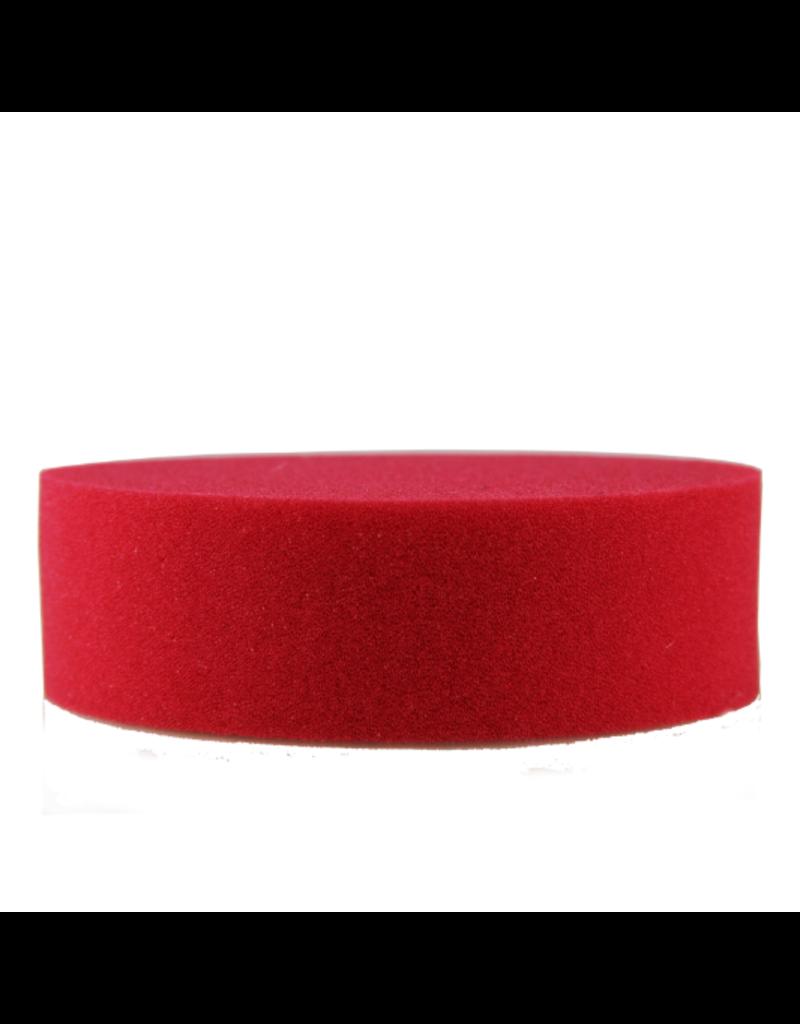 Foam Applicator: Red Foam Premium Applicator Die Cut 4 Inch X 1.25 Wax/Sealant Applicator Pad(1 Unit)