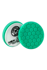 "Hex-Logic BUFX_103HEX6 6.5 "" Hex-Logic Pad Green Light Cut-Heavy Polish Minor Scratch & Swirl Remover Pad- 6.5""Inch)"