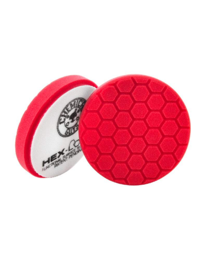 "Hex-Logic BUFX_107HEX6 6.5"" Hex-Logic Pad -Red Perfection Ultrafine Wax & Sealant Finishing Pad (6.5""Inch)"