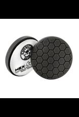 "Hex-Logic BUFX_106HEX6 6.5"" Hex-Logic Premium Soft -Black Finishing Pad (6.5""Inch)"