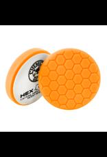 """Hex-Logic BUFX_102HEX6 6.5"""" Hex-Logic Pad Orange Medium-Heavy Cut Scratch & Swirl Remover Pad- (6.5""""Inch)"""