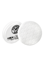 "Hex-Logic BUFX_104HEX6 6.5"" Hex-Logic Pad - White Medium Light Polishing Pad (6.5""Inch)"