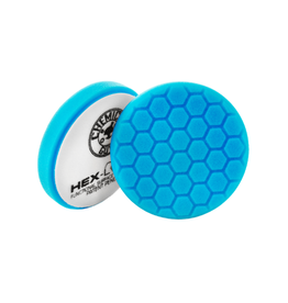 "Hex-Logic BUFX_105HEX6 6.5"" Hex-Logic Blue Light Cleaning, Glazes And Gloss Enhancing Pad (6.5""Inch)"
