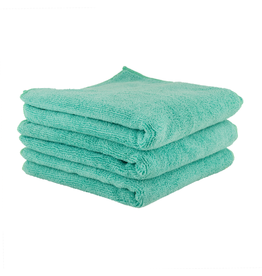 "Chemical Guys Workhorse Towel-Green For Exteriors Professional Grade Microfiber Towels-(16"" X 24"") (3-Pack)"