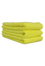 "Chemical Guys Workhorse Towel-Yellow For Interiors Professional Grade Microfiber Towels (16"" X 24"") (3-Pack)"