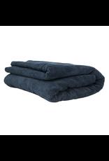 "Chemical Guys Elegant Edgeless Microfiber Towel, Black 51"" X 30"