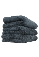 Chemical Guys Happy Ending Edgeless Microfiber Towel Black - (3 Pack)