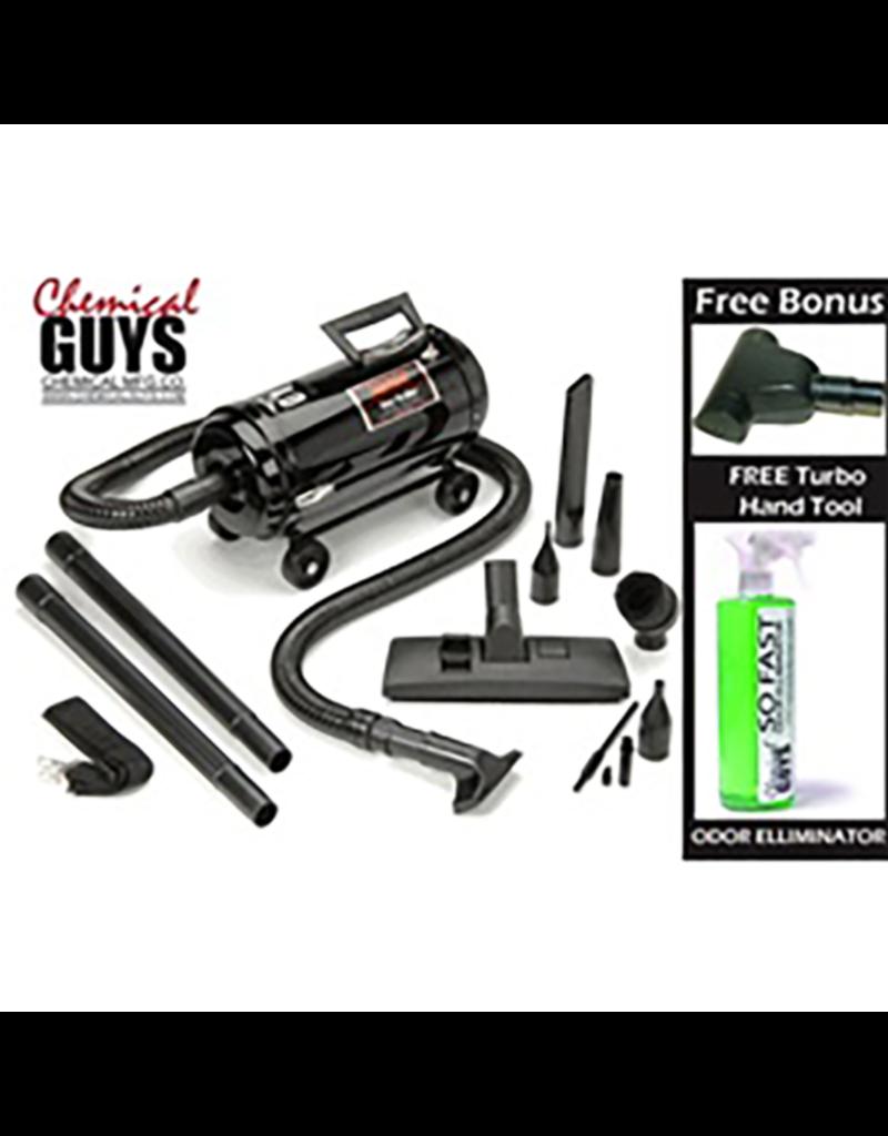 Chemical Guys VNB-94BD Metro Vac N'Blow Vnb-94Bd Heavy Duty 1350 Watt Professional Portable Vacuum+Blower w/ Free Bonuses: Free Turbo Hand Tool + Odor Eliminator(16oz)