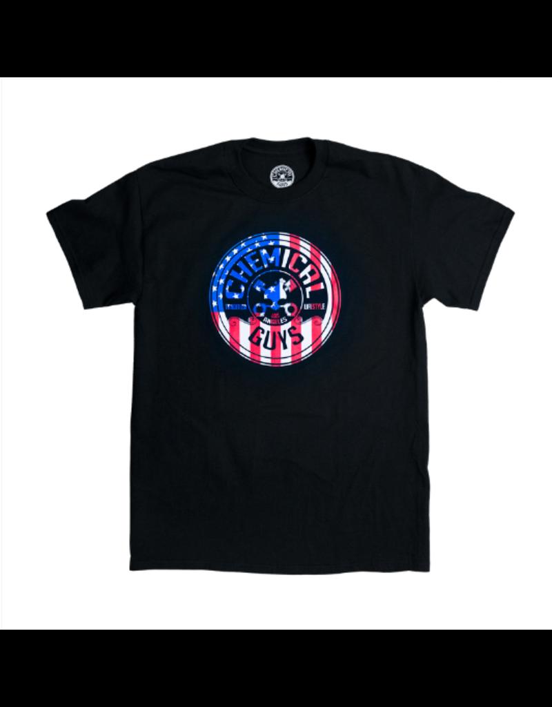 Chemical Guys Chemical Guys SHE721 - American Stars & Stripes T-Shirt (Medium)