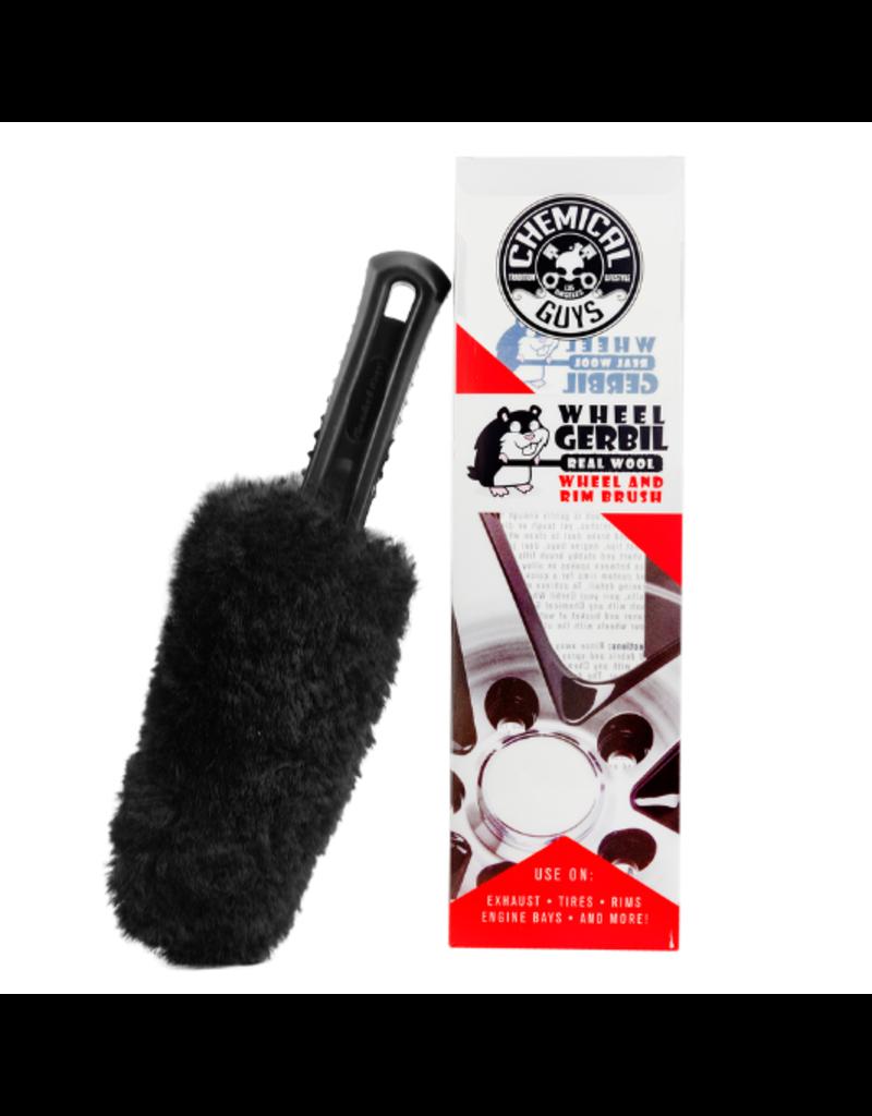 Chemical Guys Gerbil Wheel Brush-All Surface Premium Wheel & Rim Brush