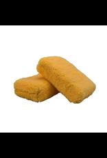 Chemical Guys MIC29702 Orange Thick -Microfiber Applicator Premium Grade (2 Pack)