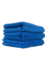 """Chemical Guys Monster Extreme Thickness Premium Microfiber Towel, Blue 16"""" x 16"""" (3 Pack)"""