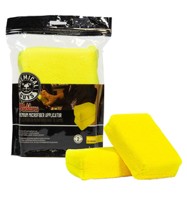 Chemical Guys Workhorse Premium Microfiber Applicator, Yellow