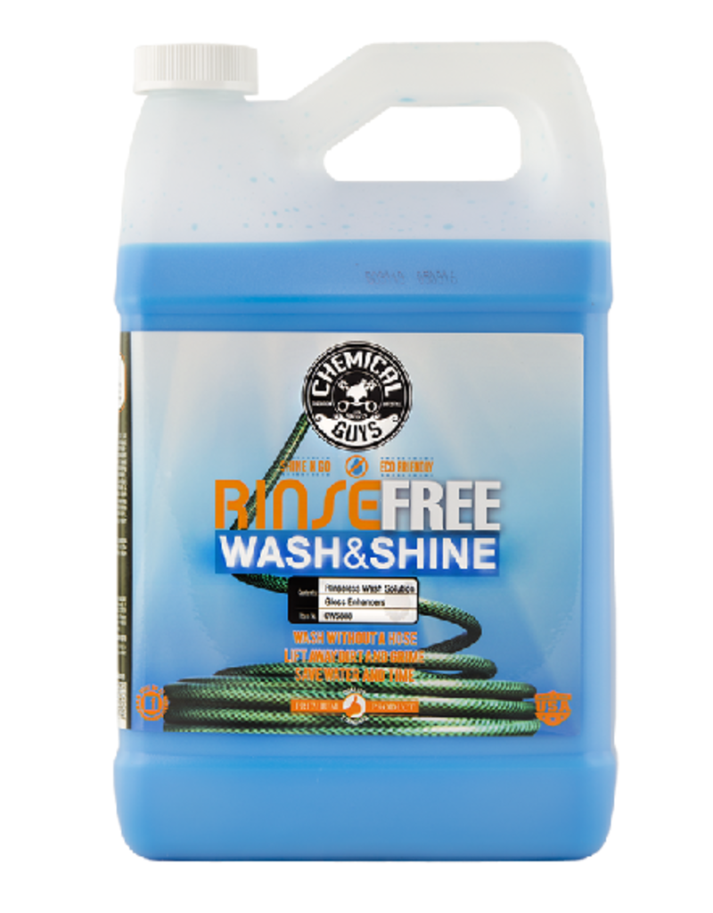 Chemical Guys Rinse Free EcoWash- The Hose Free Car Wash (128 oz - 1 Gal)