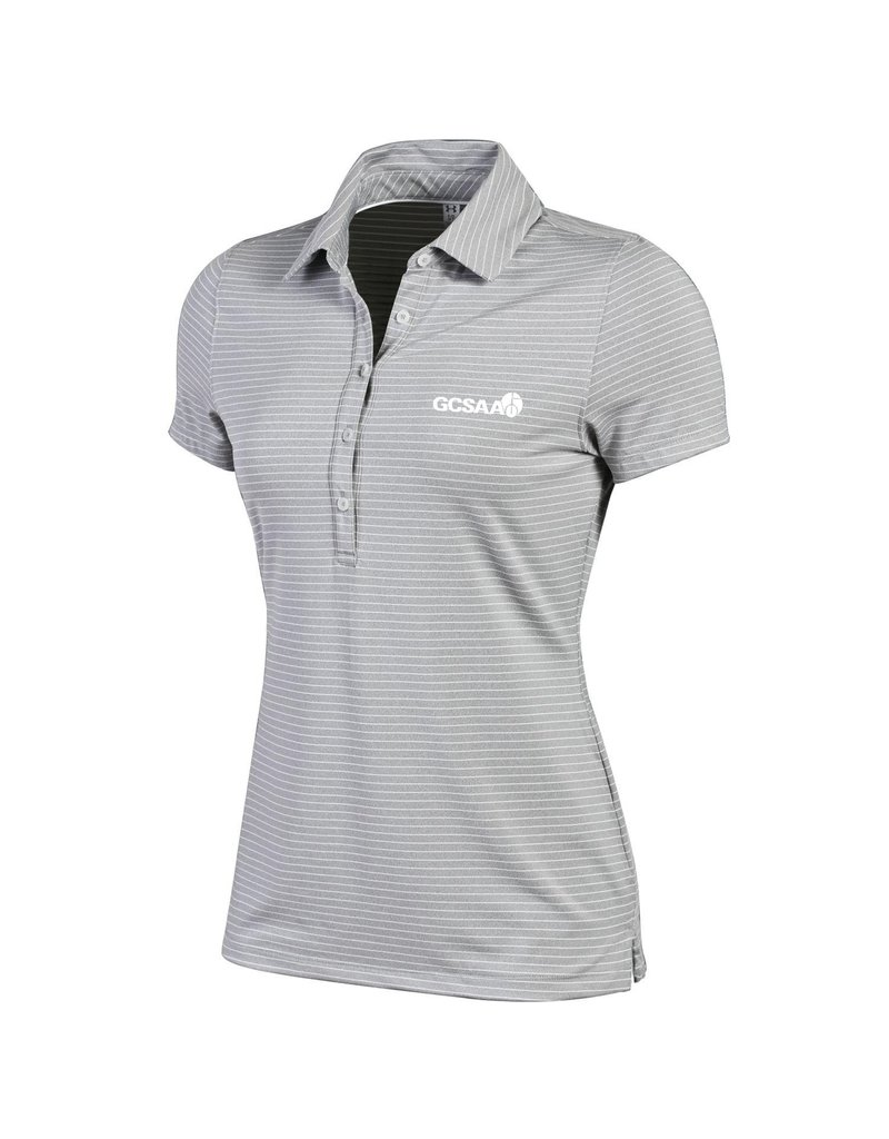 UnderArmour LADIES UA Zinger Stripe Polo