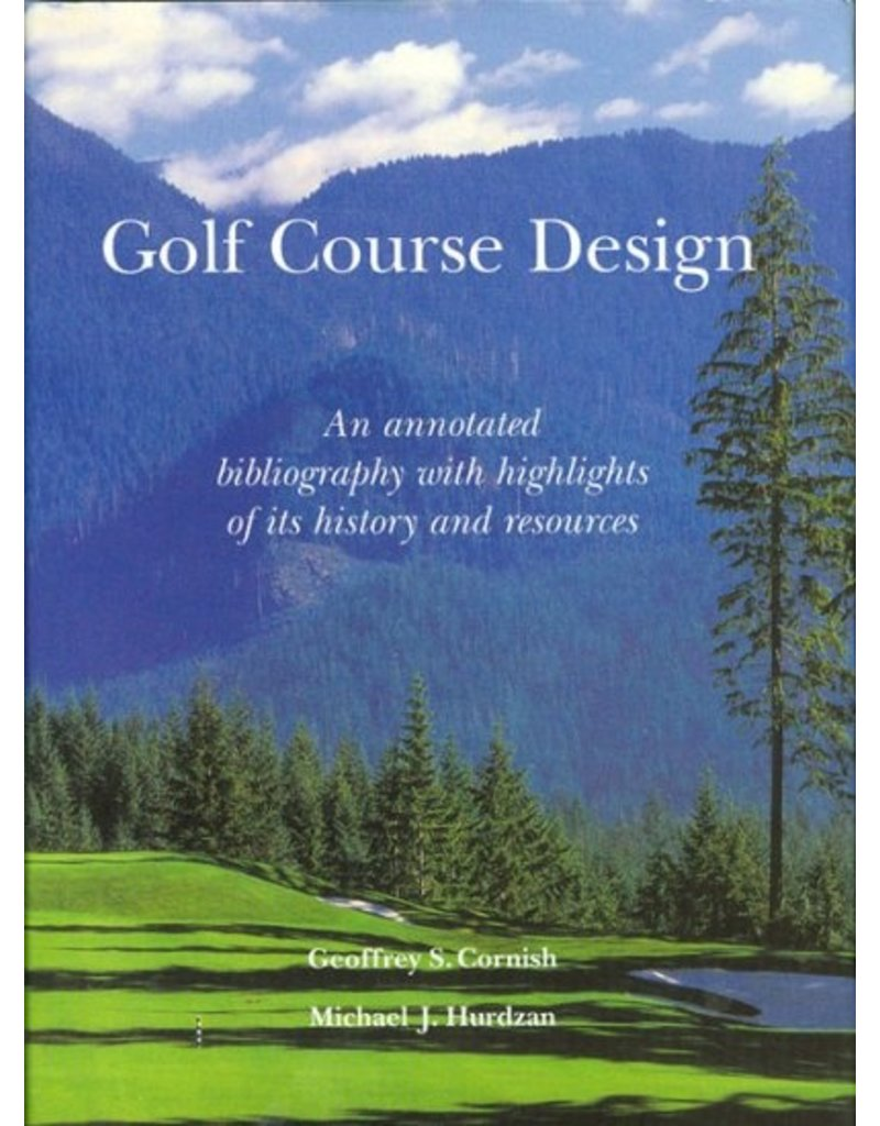 Golf Course Design: An Annotated Bibliography