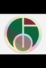 GCSAA Holographic Sticker - Icon