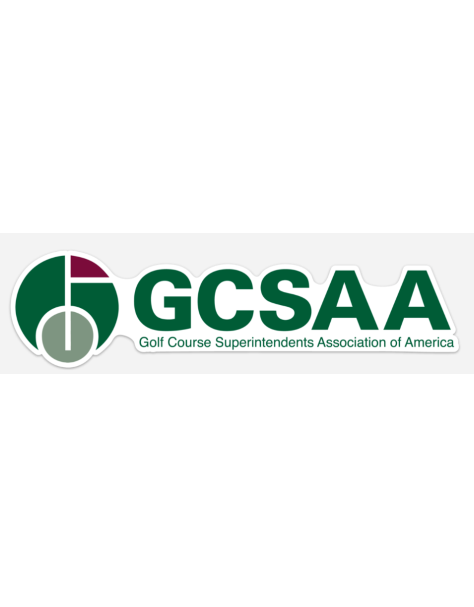 GCSAA Bumper Sticker