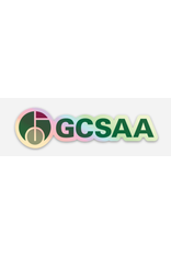 GCSAA Holographic Sticker - Full Logo