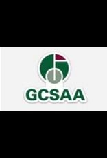 GCSAA Sticker - Social Media Logo