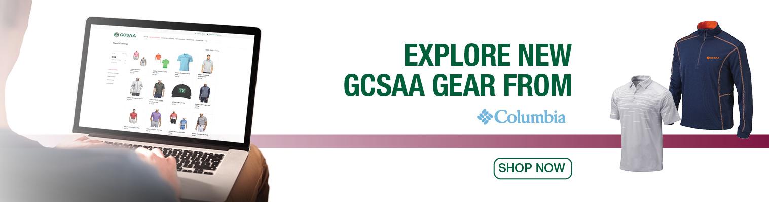 Explore New GCSAA Gear - Columbia