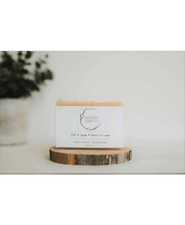 Honey and Cocoa Soap