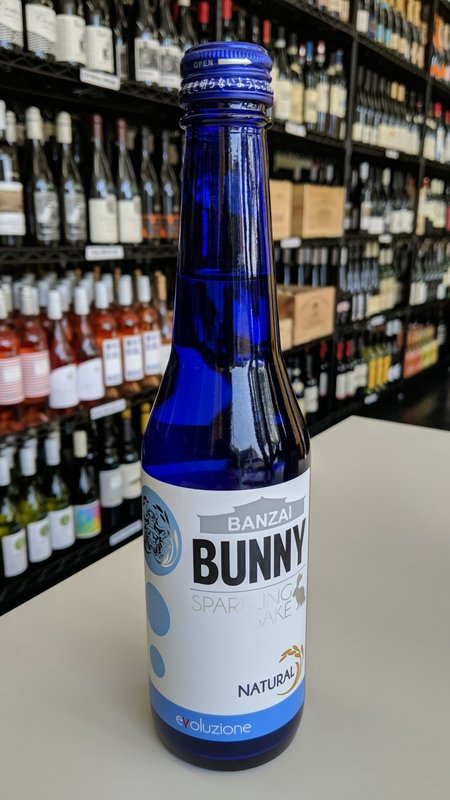 Bunny Umenoyado, Bunny Sparkling Natural Junmai Sake 300ml