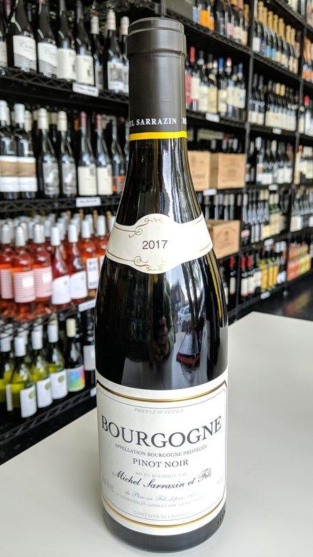Michel Sarrazin Michel Sarrazin Pinot Noir Bourgogne 2017 750ml