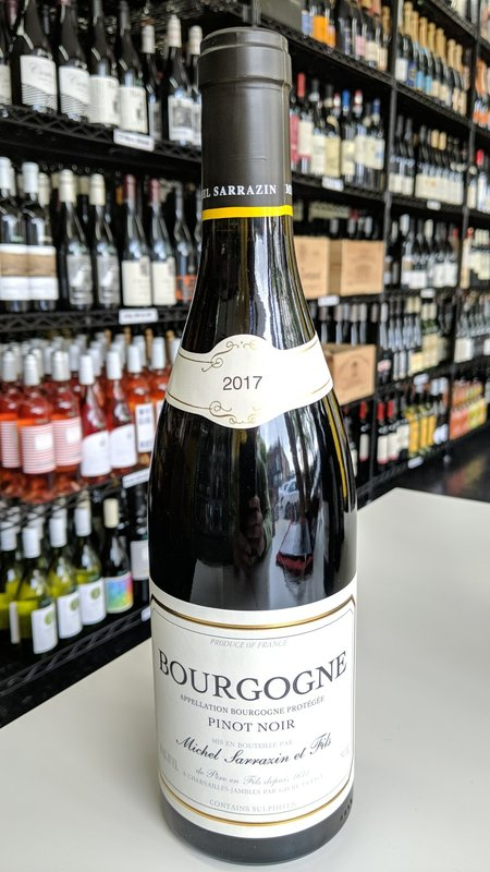 Sarrazin Michel Sarrazin, Pinot Noir Bourgogne 2017 750ml