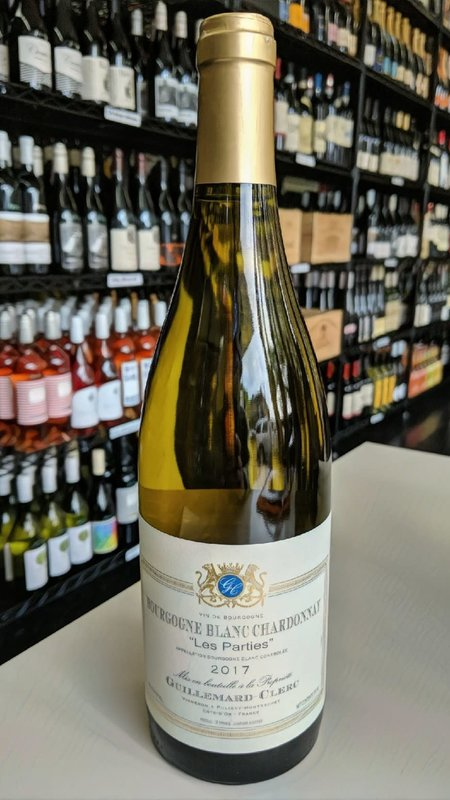Guillemard -Clerc Guillemard Clerc, Les Parties Chardonnay Bourgogne 2018 750ml