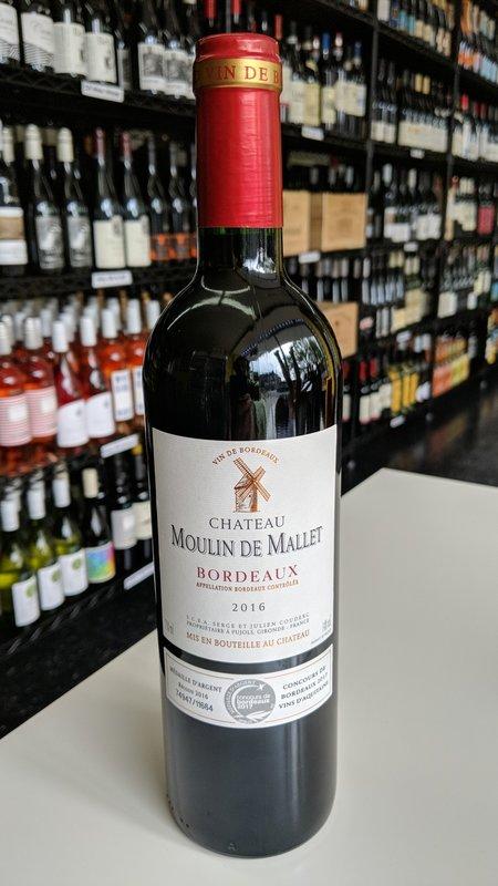 Chateau Moulin de Mallet Chateau Moulin de Mallet Bordeaux 2018 750ml