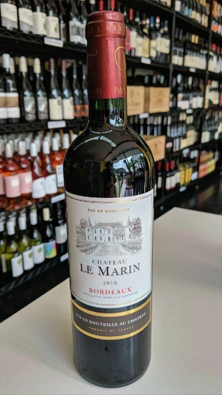 Chateau Le Marin Chateau Le Marin Bordeaux 2016 750ml
