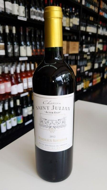Chateau Saint Julian Chateau Saint Julian Alter Ego Bordeaux 2012 750ml