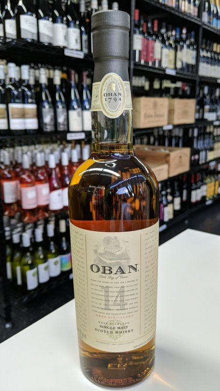 Oban Oban 14Y Single Malt Scotch 750ml