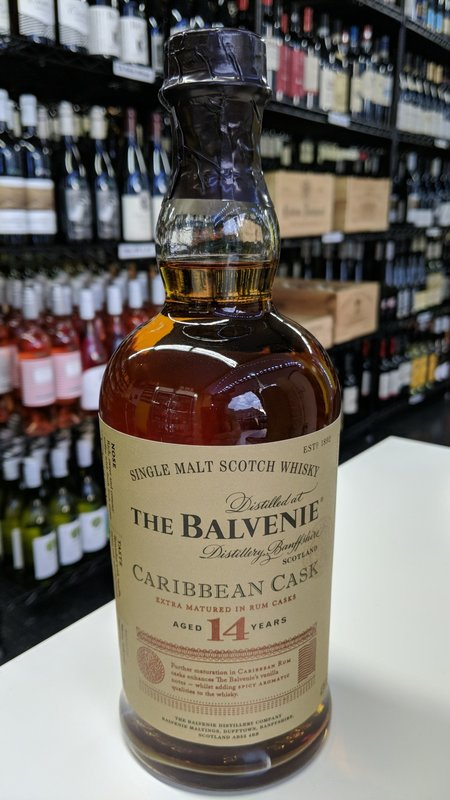 Balvenie The Balvenie 14Y Caribbean Cask Scotch 750ml