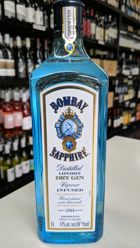 Bombay Bombay Sapphire Gin 1L