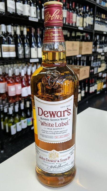 Dewar's Dewar's  White Label Scotch 1L
