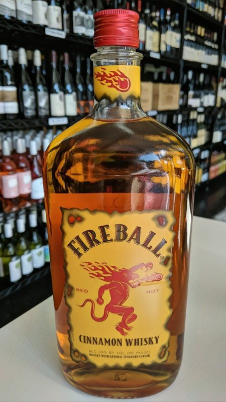 Fire Ball Fireball Cinnamon Whisky 1L
