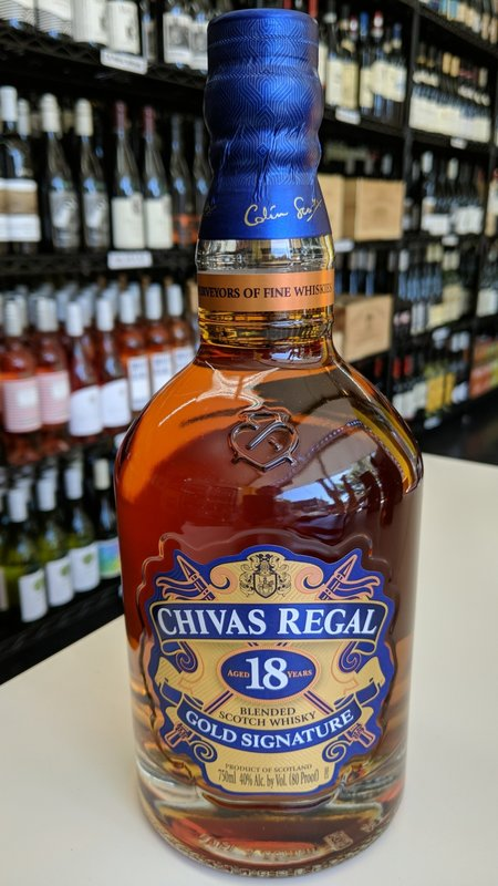 Chivas Regal Chivas Regal 18Y Scotch 750ml